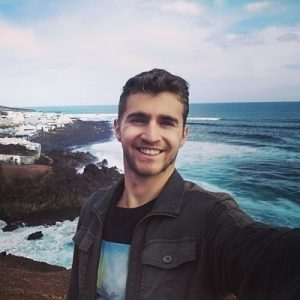 Sebastian, the travel expert and traveler who is also the creator of a travel website called Travel Done Simple