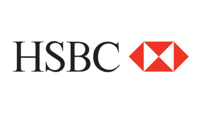 The logo for HSBC which is the best bank and debit card that Australian travelers can use while traveling