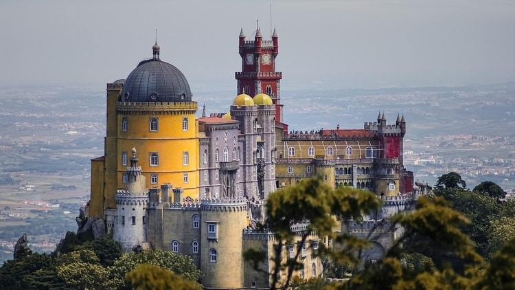 Sintra in Portugal which is a very cheap country for budget travelers to travel to in Southern Portugal