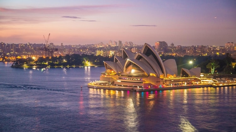 Sydney Opera House which is a top attraction for travelers in Australia