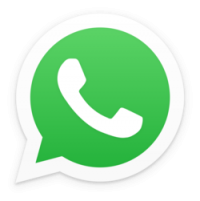 The logo for the WhatsApp travel app which is the best messaging app for travelers