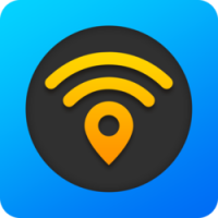 The logo for the WiFi Map travel app which is the best wifi finding app for travelers
