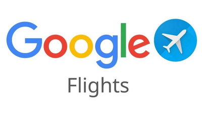 The Google Flights logo, the best website you can use to find flights for your travels