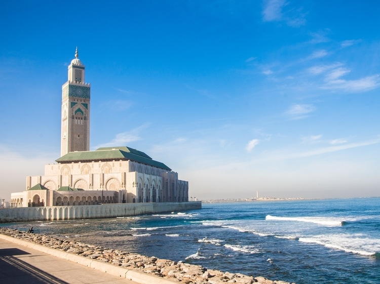 Casablanca which is a top destination for travelers in Morocco