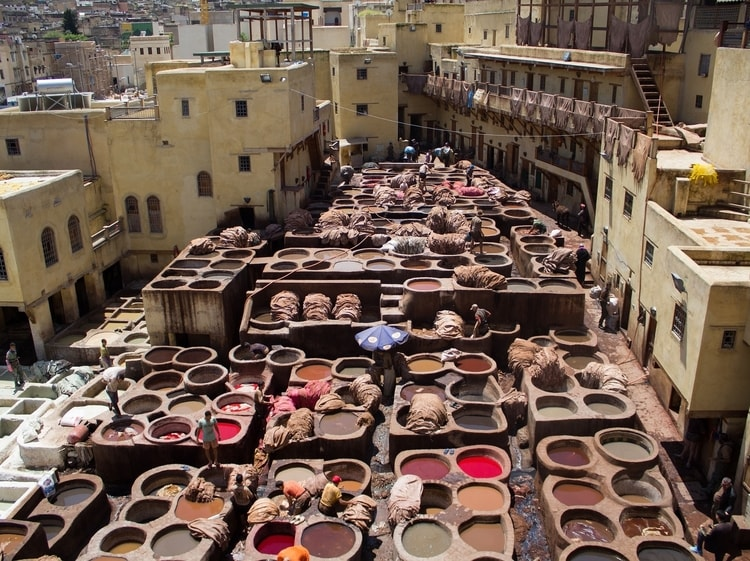 Fes which is a top destination for travelers in Morocco