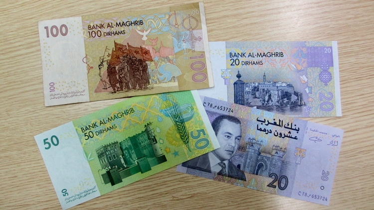 The Moroccan Dirham which is the currency used by travelers in Morocco
