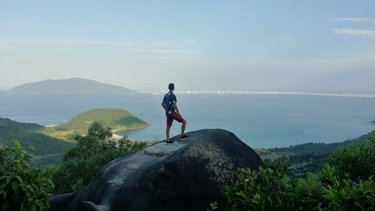 Sebastian from Travel Done Simple contemplating life in Vietnam