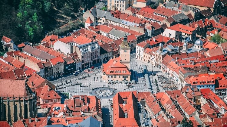 Brasov which is a top destination for travelers in Romania
