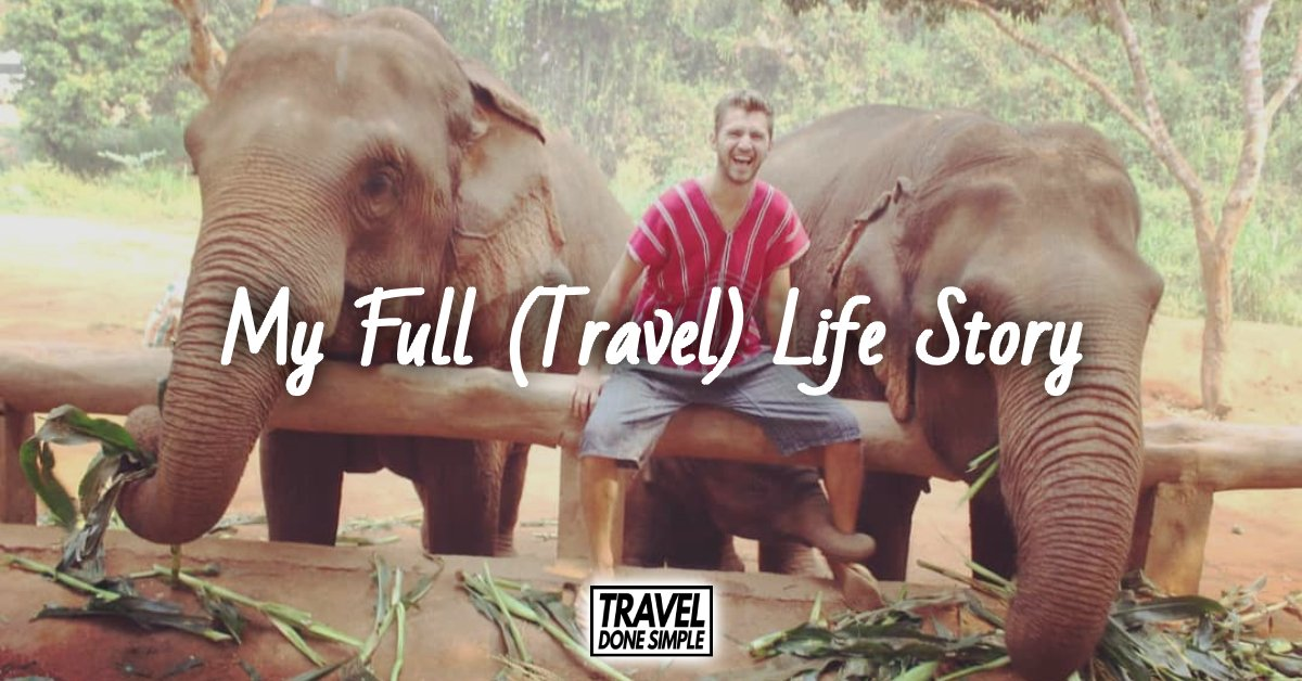 The full travel life story behind Sebastian, the creator of Travel Done Simple