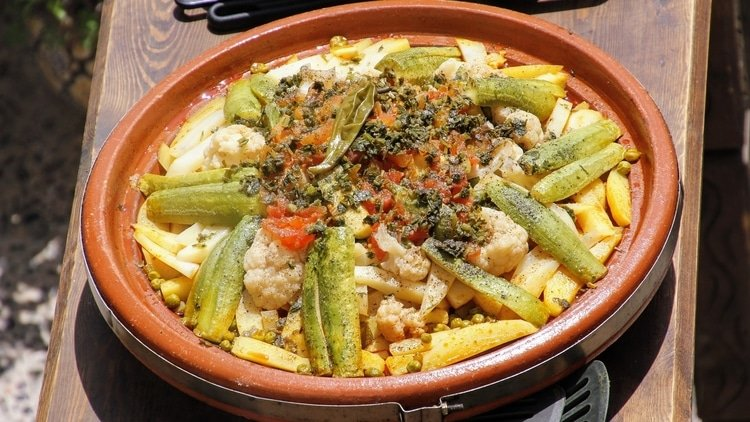 Tajine which is one of the top dishes in Morocco
