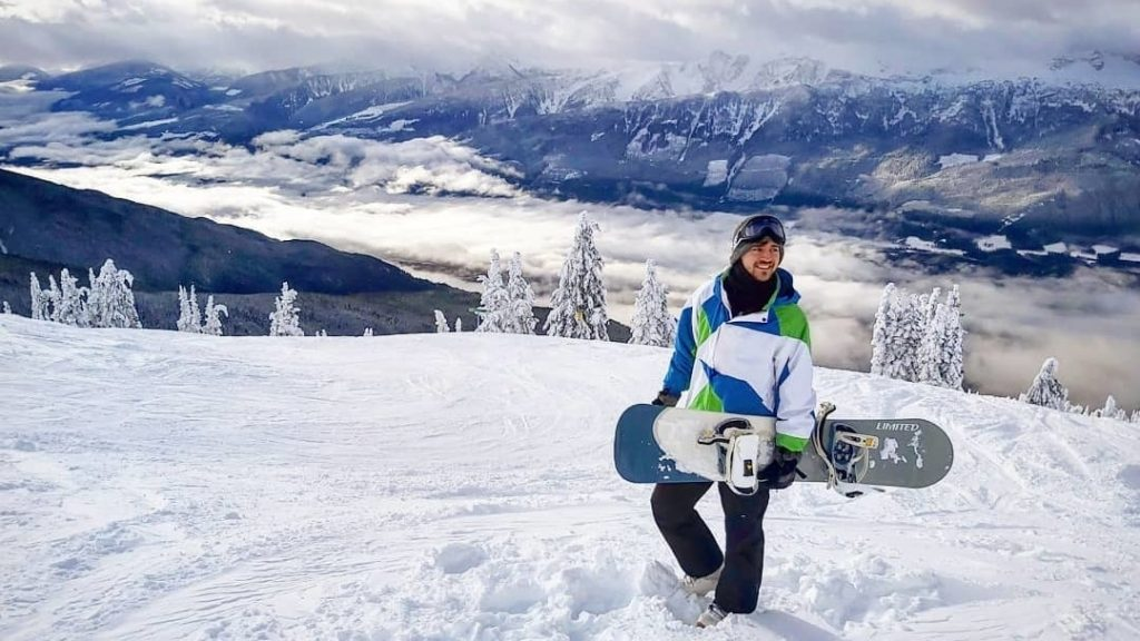 Sebastian from Travel Done Simple as seen in Revelstoke British Columbia Canada